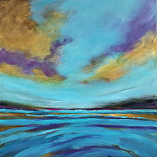 Chasing Light by Filomena Booth (Acrylic Painting)