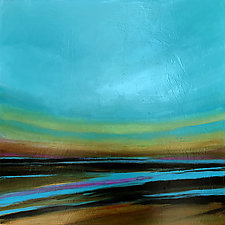 As the Tide Goes Out by Filomena Booth (Acrylic Painting)