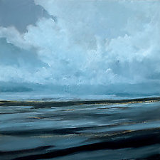 Night Sea by Filomena Booth (Acrylic Painting)