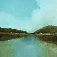 Lake View by Filomena Booth (Acrylic Painting)