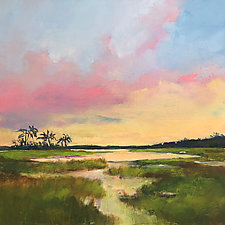 Golden Hour by Filomena Booth (Acrylic Painting)