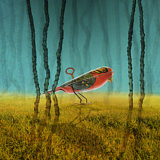 WindupBird by Patricia Barry Levy (Pigment Print)
