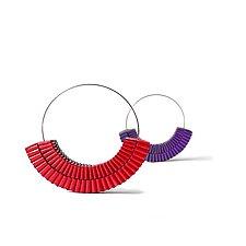 Quattro Hoops by Francesca Vitali (Paper Earrings)