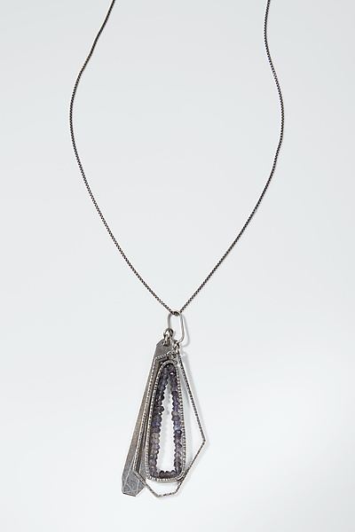 Polygon Cluster Pendant Necklace