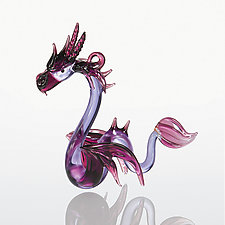 Sea Dragon by WGK Glass (Art Glass Ornament)