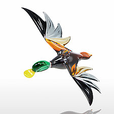 Flight Home by WGK Glass (Art Glass Ornament)