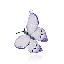 Papillon by Loy Allen (Art Glass Ornament)