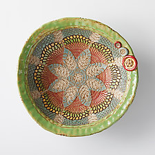 Fjolla Bowl by Laurie Pollpeter Eskenazi (Ceramic Bowl)