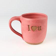 Endearments Mugs by Louise Bilodeau (Ceramic Mug)