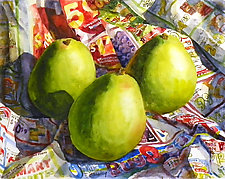 Pears by Terrece Beesley (Watercolor Painting)