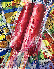 Popsicle by Terrece Beesley (Acrylic Painting)