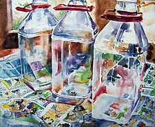 Out of Milk by Terrece Beesley (Watercolor Painting)