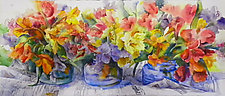 Flower Power by Terrece Beesley (Watercolor Painting)