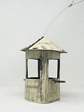 Textured Bird Feeder by Cheryl Wolff (Ceramic Bird Feeder)