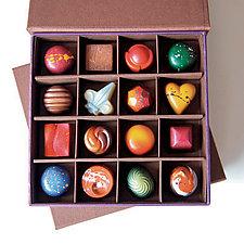 16 Piece Box of Chocolates by Infusion Chocolates (Artisanal Chocolate)