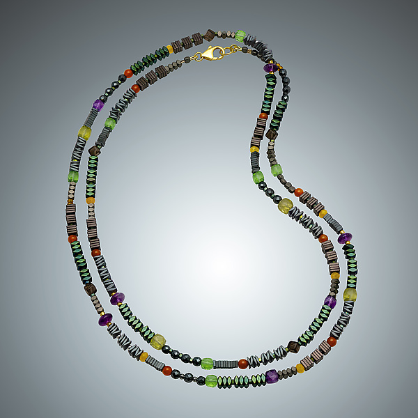 Fall Multi-Stone Necklace