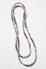 Confetti Necklace by Judy Bliss (Gold & Stone Necklace)