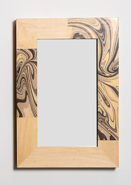 Alaya Marbled Mirror