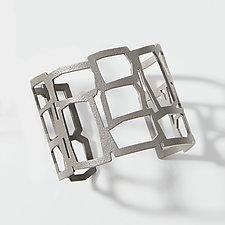 Thin Rectangle Cuff by Melissa Stiles (Steel Bracelet)