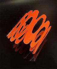 Atomic Cuff Bracelet by Melissa Stiles (Steel Bracelet)