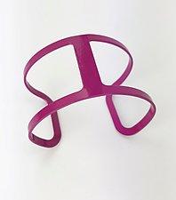 Flip Cuff Bracelet by Melissa Stiles (Steel Bracelet)