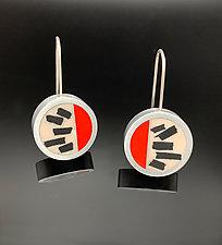 Trax Earrings by Melissa Stiles (Resin Earrings)