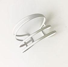 Swoop Cuff by Melissa Stiles (Steel Bracelet)