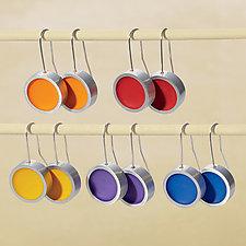 Dot Earrings by Melissa Stiles (Resin Earrings)