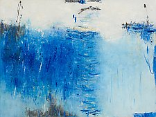 My Blue Heaven by Lela Kay (Oil Painting)