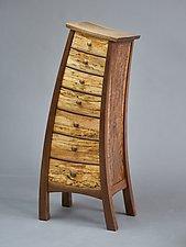 Tip Top Dresser by Steven M. White (Wood Dresser)