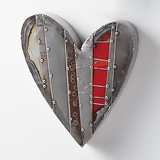 Small Hearts by Anthony Hansen (Metal Wall Sculpture)