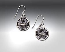 Snow Berry Earrings II by Dawn Estrin (Pewter Earrings)