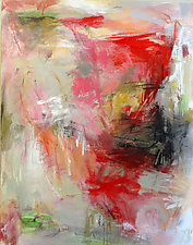 Red Jazz by Debora  Stewart (Acrylic Painting)