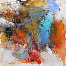 Vibe 3 by Debora  Stewart (Acrylic Painting)