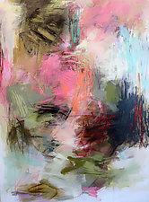 Garden Escape by Debora  Stewart (Acrylic Painting)