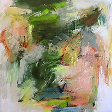 Earth Poem 5 by Debora  Stewart (Acrylic Painting)