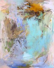 Blue Summer by Debora  Stewart (Acrylic Painting)