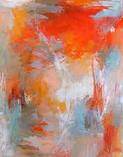 Orange Crush by Debora  Stewart (Acrylic Painting)