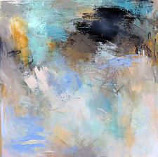 Air and Water by Debora  Stewart (Acrylic Painting)