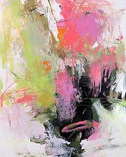 Summer Garden 1 by Debora  Stewart (Acrylic Painting)