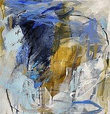 Blue Moon 2 by Debora  Stewart (Acrylic Painting)