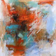 Vibe 2 by Debora  Stewart (Acrylic Painting)