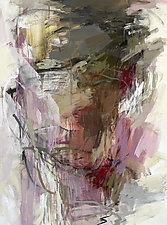 Violet 1 by Debora  Stewart (Acrylic Painting)
