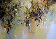 Garden Traces by Debora  Stewart (Oil Painting)
