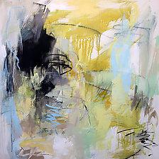 Summer at the Pool 1 by Debora  Stewart (Acrylic Painting)