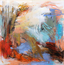 Vibe 4 by Debora  Stewart (Acrylic Painting)
