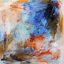 Blue Sky Shinning on Me by Debora  Stewart (Acrylic Painting)