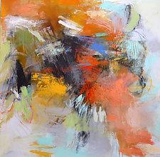 Summer Garden 3 by Debora  Stewart (Acrylic Painting)