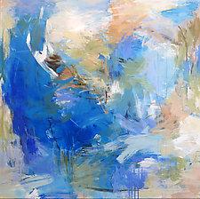 Blue Sonata by Debora  Stewart (Acrylic Painting)