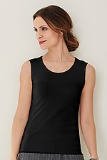 Cotton Mesh Tank by Cynthia Ashby  (Mesh Top)